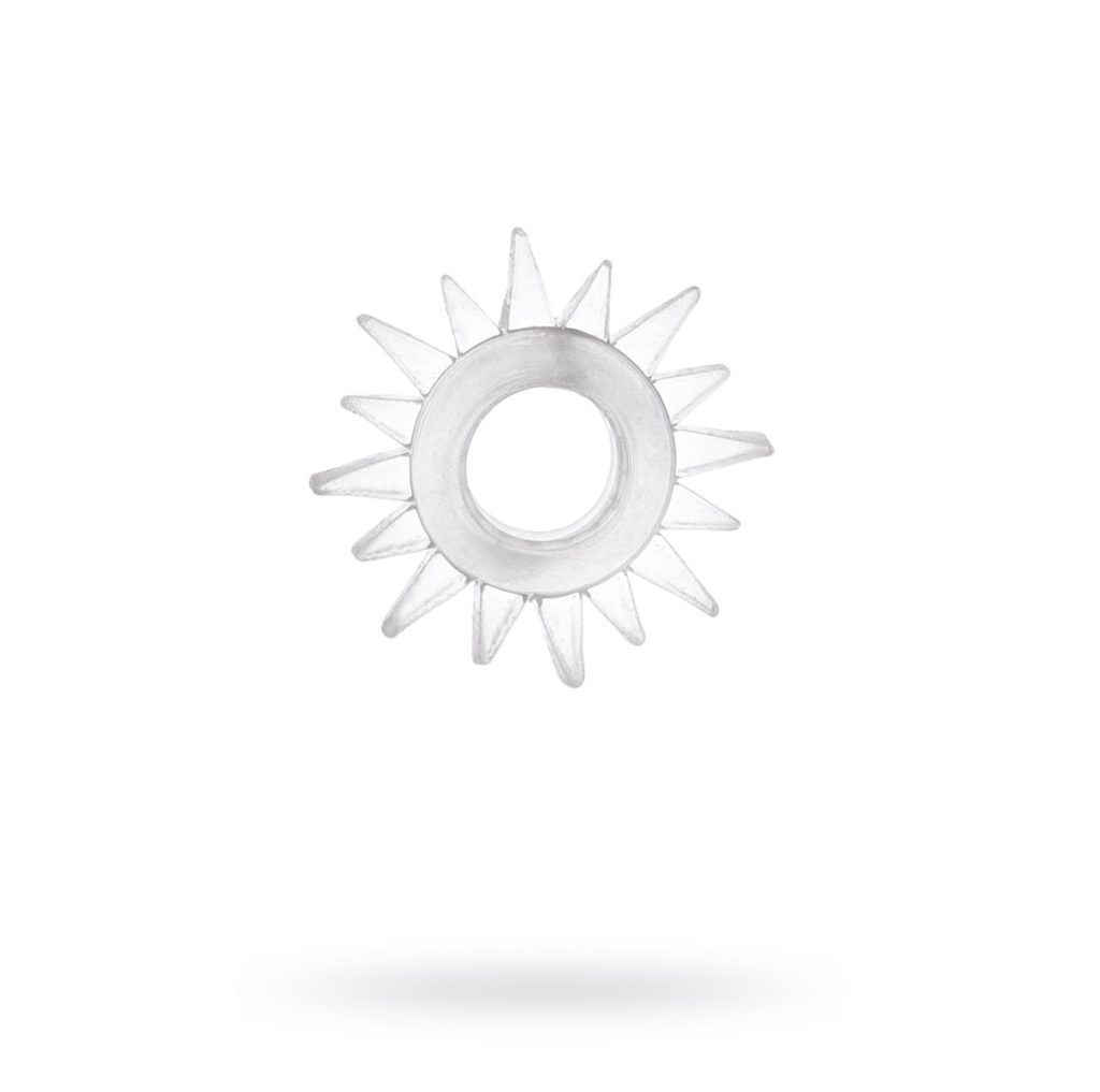 Эрекционное кольцо TOYFA, TPE, прозрачный