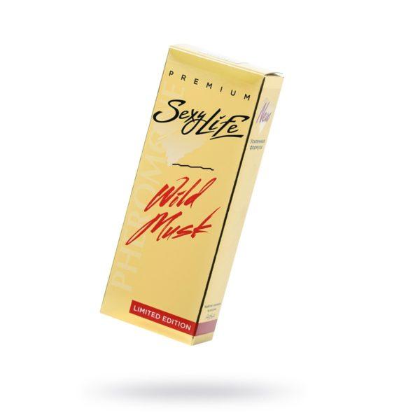 Мужские духи с феромонами Wild Musk №4 философия аромата - Shaik 77 Aventus