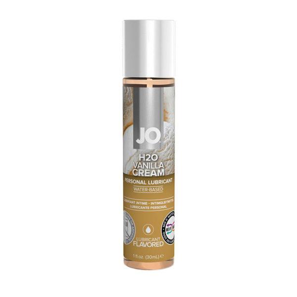 Ароматизированный лубрикант на водной основе JO Flavored Vanilla H2O - 30 мл