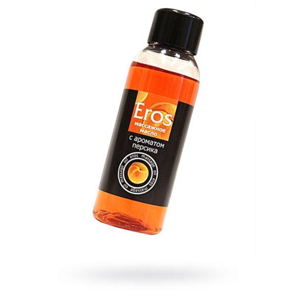 Масло массажное c ароматом персика EROS, 50 мл