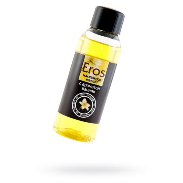 Масло массажное c ароматом ванили EROS, 50 мл